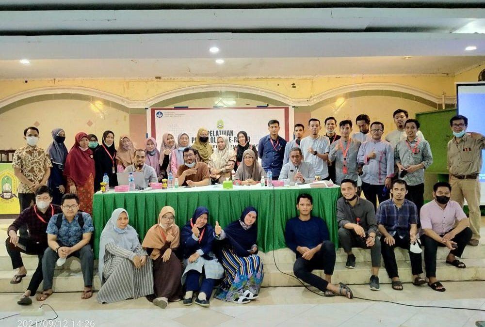SMP Pesantren Modern Pendidikan Alquran IMMIM Makassar Pelatihan Pengelolaan E-Rapor
